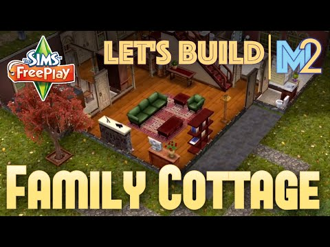 Sims FreePlay - Let's Build a 2-Story Family Cottage (Live Build Tutorial)