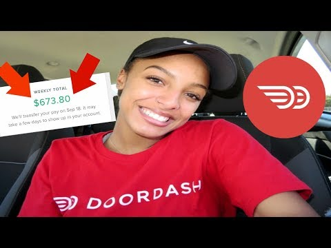 How I Make $700 EVERY WEEK With DoorDash + Tips For Success | IndyyGold