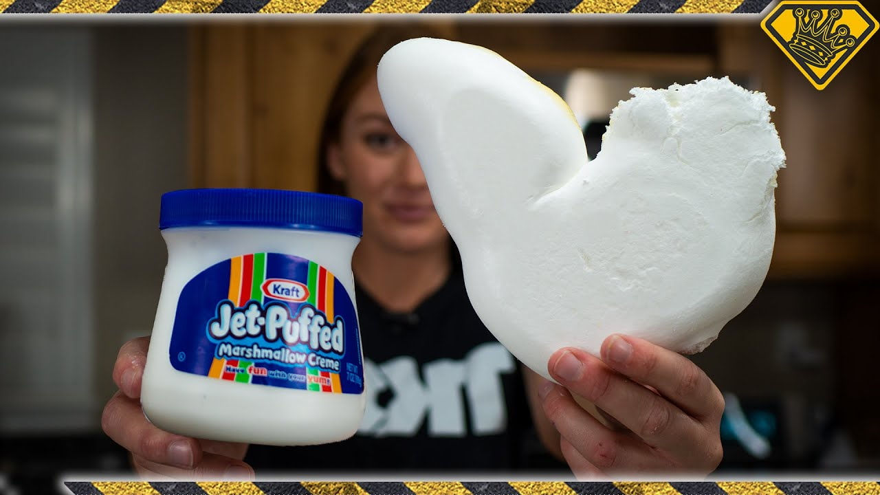 What Happens When You Freeze Dry Marshmallow Creme?