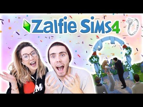 Zalfie Wedding Day | Zalfie Sims Edition [15]