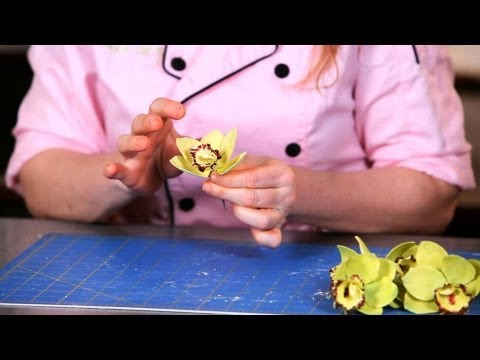 How to Attach Orchid Petals | Sugar Flowers