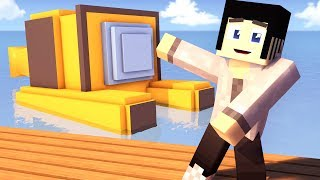 Minecraft The Purge - ESCAPE THE SUBMARINE! #25 | Minecraft Roleplay