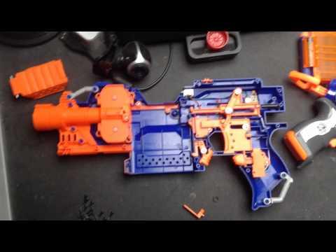 Tutorial: Nerf N-Strike Elite Stryfe Faster Firerate Mod (Easy)