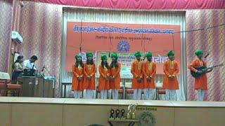 Group Song Sanskrit at Bharat Vikas Parishad- Shreya Chakraborty