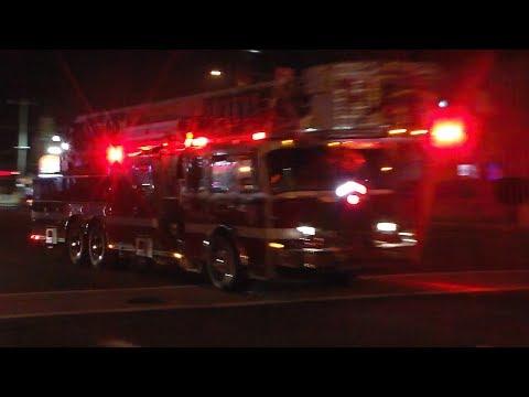 OCMD Engine 1, Tower 1 & Rescue 1 Responding