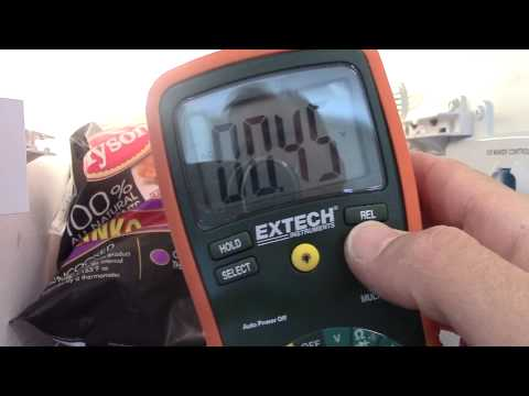 Testing ice maker voltage - How to measure voltage