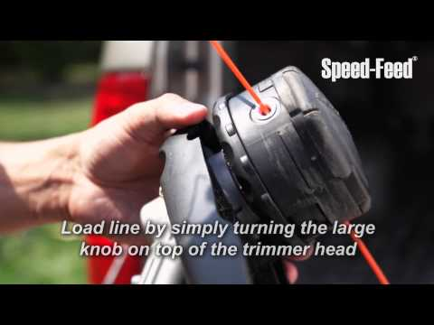 How to Easily Load Speed Feed® Trimmer Line