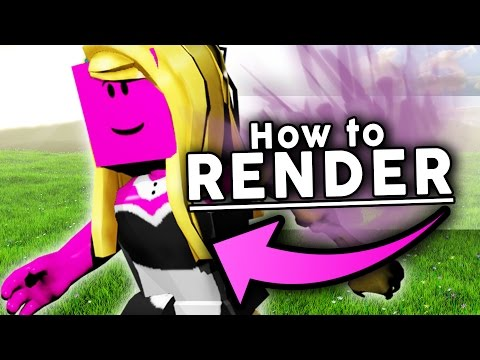 Roblox how to render your character! (w/ BLENDER!)