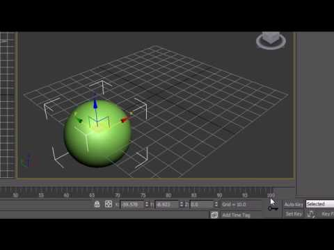 3Ds Max Tutorial - 21 - Animation