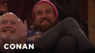 Audience New Year's Resolutions: Snowboarding Thor Edition  - CONAN on TBS
