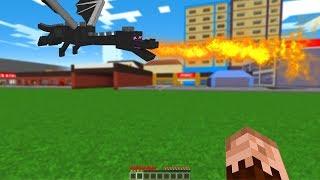 ŞEHRE EJDERHA GELDİ! 😱 - Minecraft