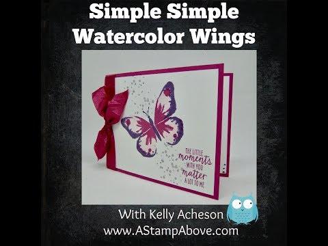 Stamparatus vs Watercolor Wings