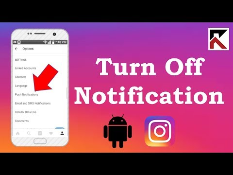 How To Turn Off Notifications Instagram Android 2018