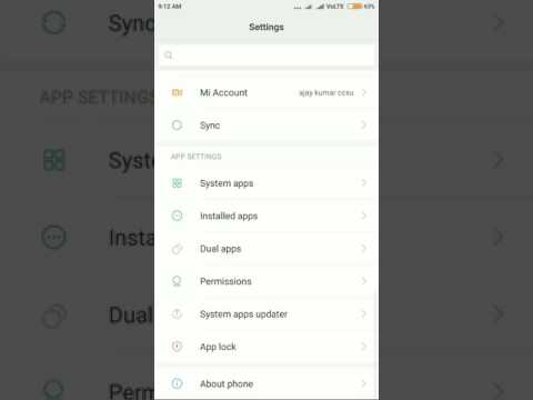 How to turn on document in setting for save as pdf.redmi note 3/4 all mi phones