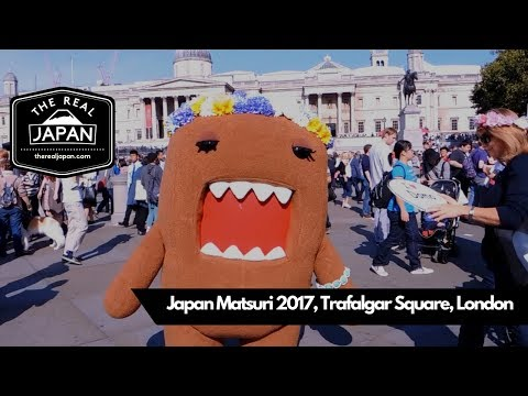 Japan Matsuri 2017, Trafalgar Square, London, UK   The Real Japan   HD
