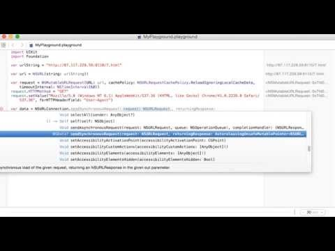 How to edit user agent string in HTTP request in Swift