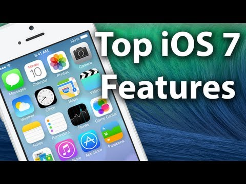 Top iOS 7 Features - iOS 7 Beta Hands on Features & Review