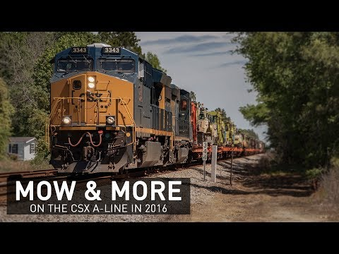 MOW & More on the CSX A-Line