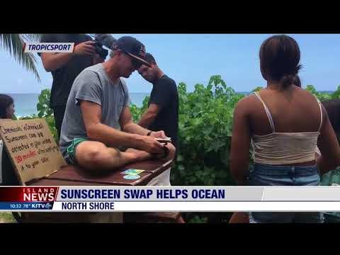 ABC Island News Highlights TropicSport Sunscreen Swap Event on International Surfing Day