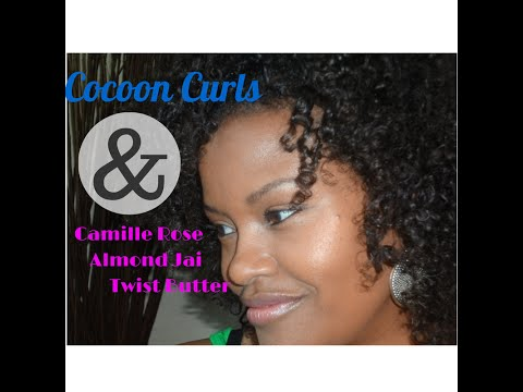 Fine Natural Hair Styles | Bouncy Cocoon Curls - Camille Rose  3c 4a Hair