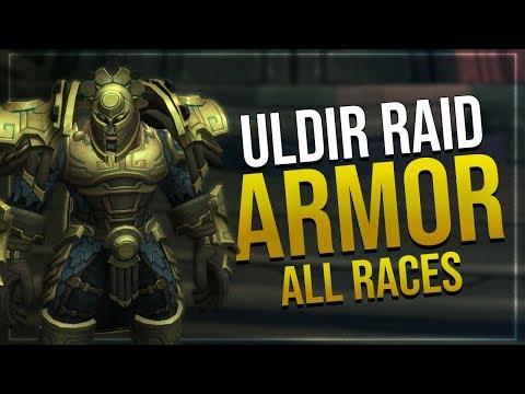 Uldir Mythic Mail Armor Set   All Races   Battle for Azeroth!