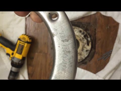 How to fix a broken Toilet flange