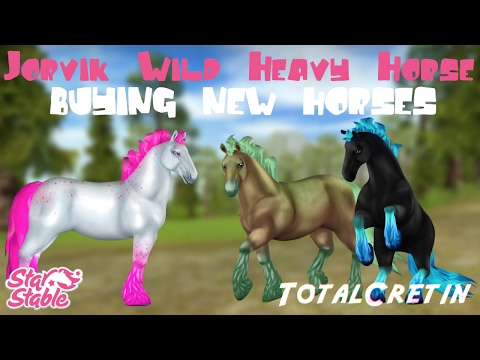 JORVIK WILD HEAVY HORSES (BUYING NEW HORSES #7) (Star Stable)