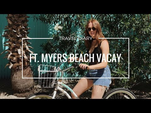 TRAVEL DIARY   BEACH WEEKEND IN FT. MYERS FLORIDA