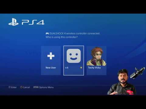 How to Log In to PS4 Automatically with Particular User?