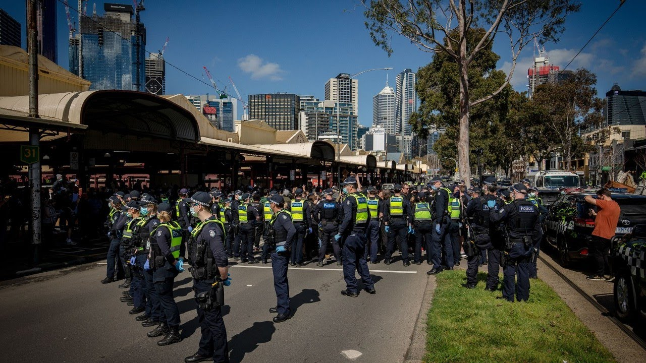 Government has been 'silent' from the top down on 'police brutality' in Victoria