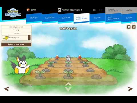 Pokemon Dream World, Finding Emolga