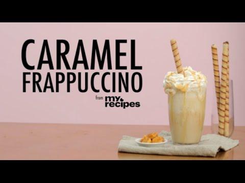 How to Make a Copycat Caramel Frappuccino | MyRecipes