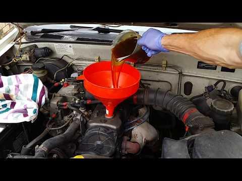 Change Holden rodeo motor oil