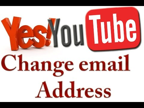 YouTube Change Your Email Account And add Managers