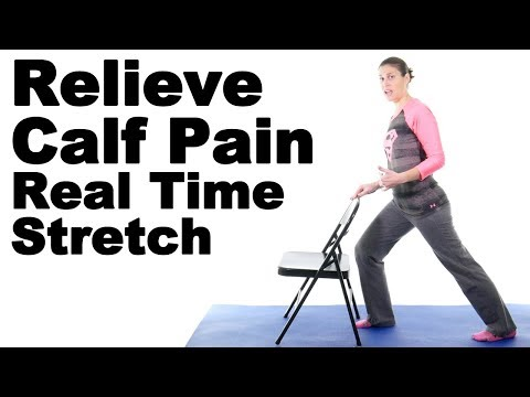 Relieve Calf Pain with This Real Time Calf Stretch - Ask Doctor Jo