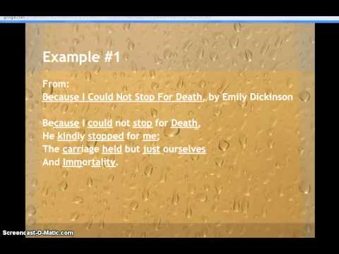 Examples of Rhythm in Poetry