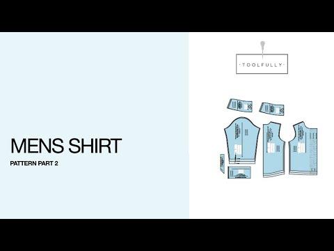 Men Shirt, the Pattern part 2.