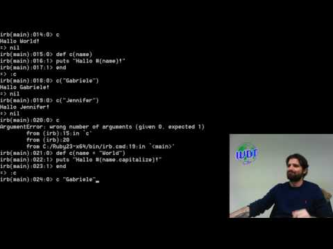 RUBY, how start this programming language - WDT Tutorial