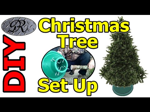 ❄☃❄ DIY How To Put Up A Christmas Tree and Avoid An Epic Fail Christmas Morning