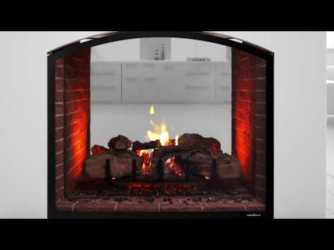 Heat & Glo® Escape See-Through Gas Fireplace