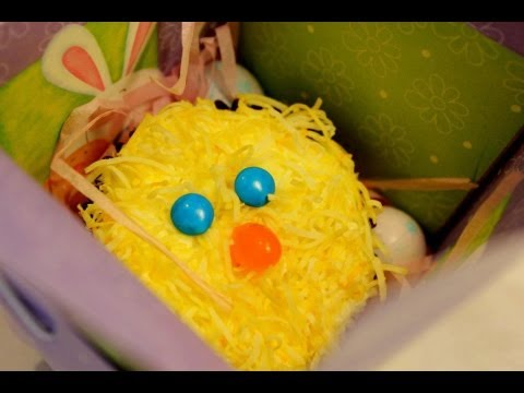 #6 Fuzzy Easter Chicken Cupcakes - How to make Baby Bird Cupcakes by 22do