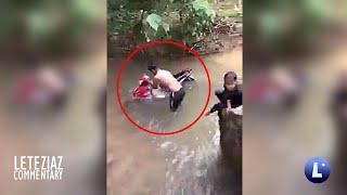 Motor Libre Washing Pero Nilublob Sa Ilog Funny Videos Compilation