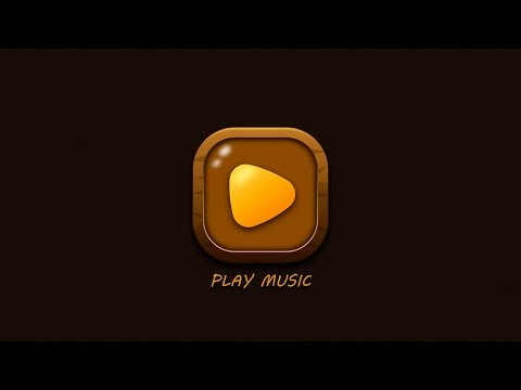 Illustrator Tutorial | Glossy Music Play Button UI Design