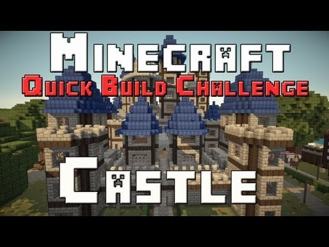 Minecraft Xbox - Quick Build Challenge - Quarter Finals - Castle
