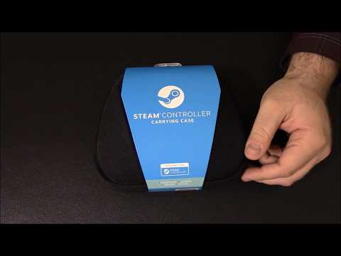 Unboxing the Steam Controller Carrying Case