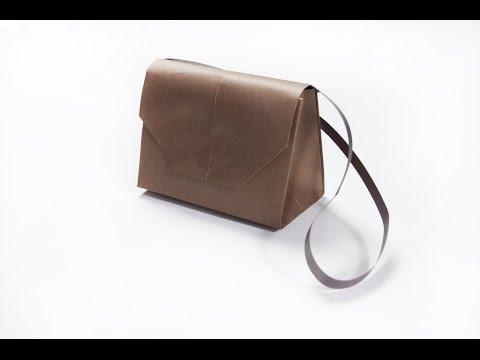 How to make a paper handbag