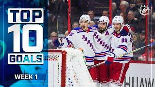 Top 10 Goals From Week 1 2019 20 NHL Season