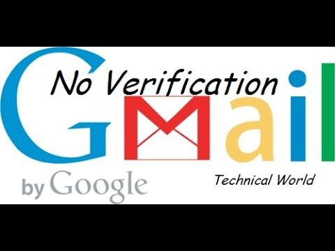 how to create gmail account without phone number verification | unlimited