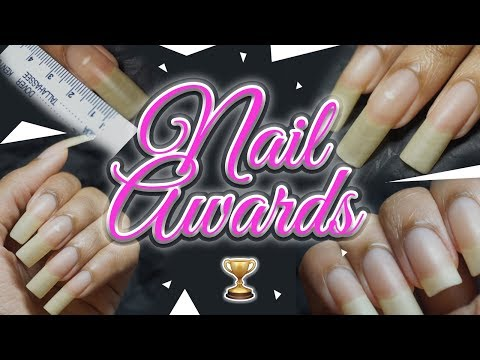 The Nail Growth Awards are Underway! ✨🏆😻💅🏽 + Finally Measuring My Natural Nails 📏👀