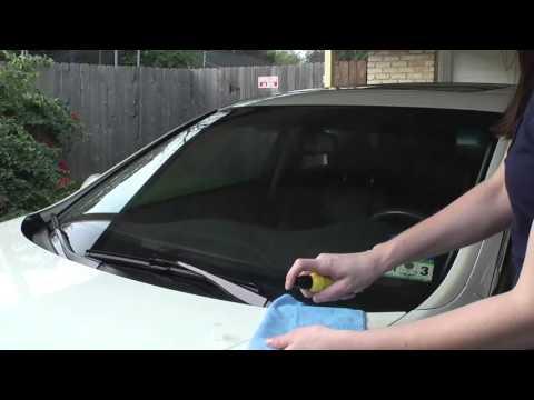 Rain-X Deep Cleaning Windscreen Kit - Application Guide